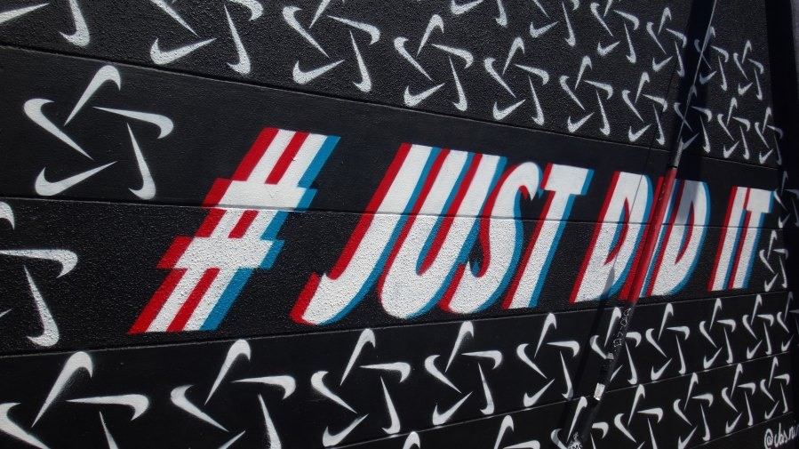 just do it storytelling content marketing